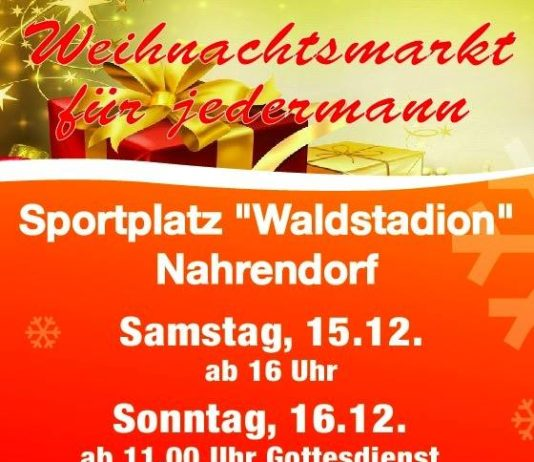 Weihnachtsmarkt Nahrendorf 2018